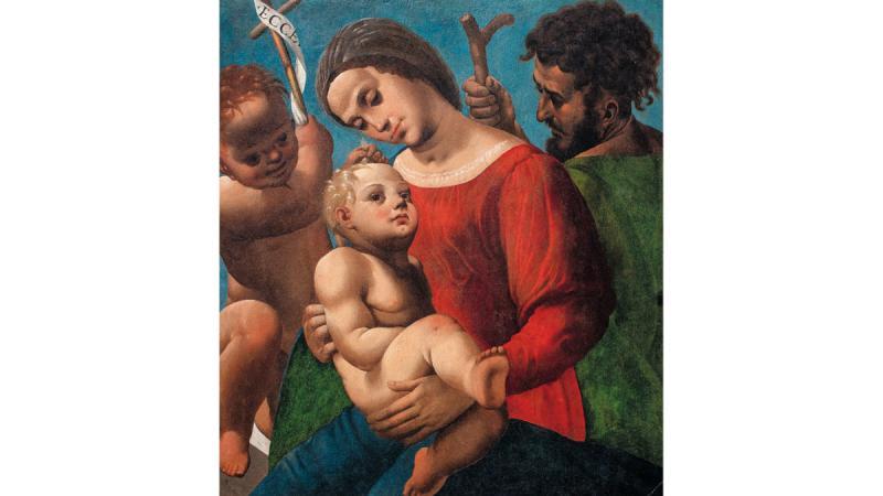 ColaAmatrice, Sacra Famiglia