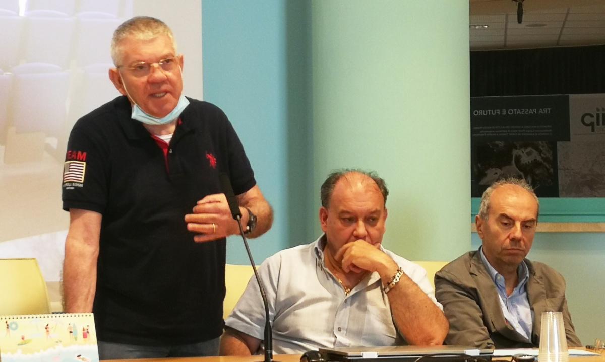 Il presidente Giacinto Alati con il direttore Giovanni Celani