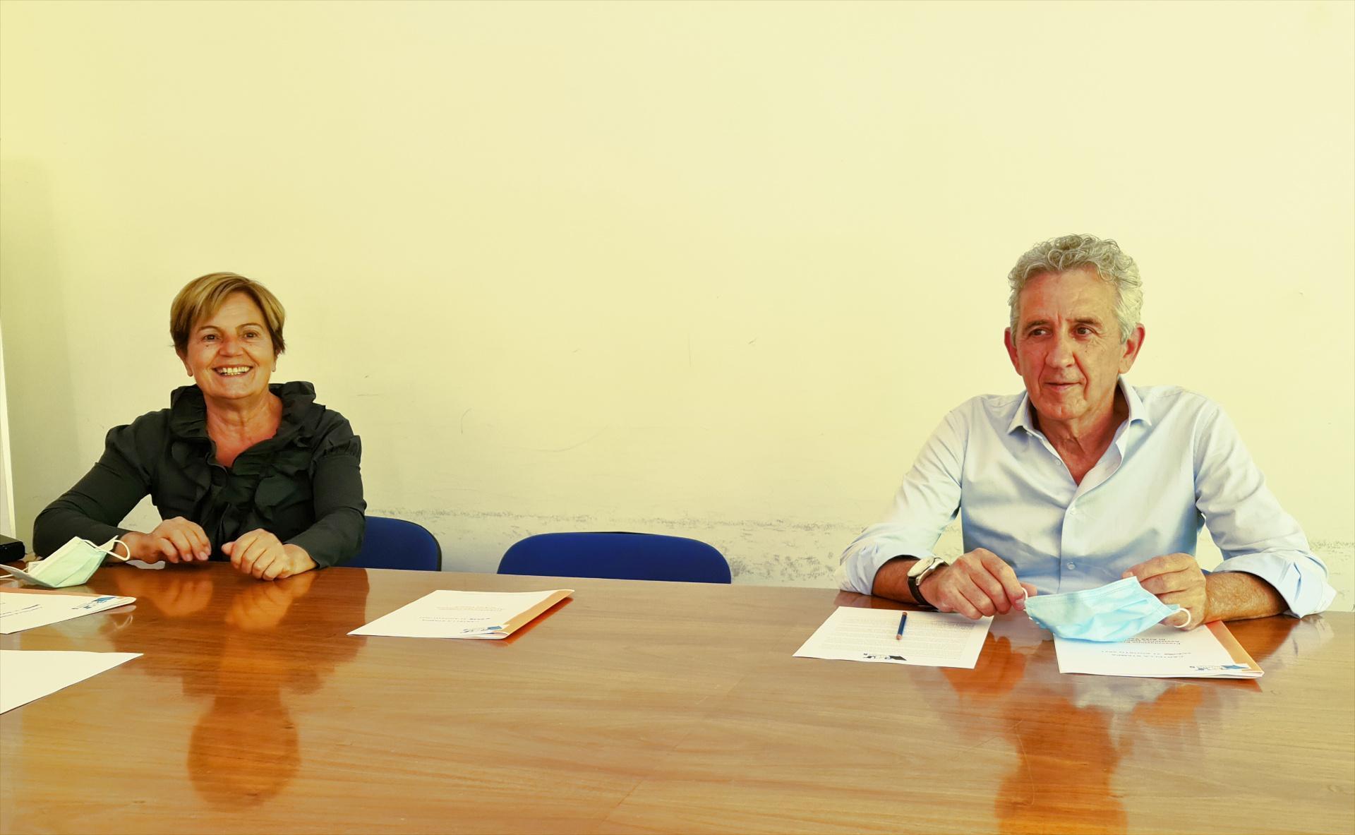 Giovanna Picciotti e Cesare Milani
